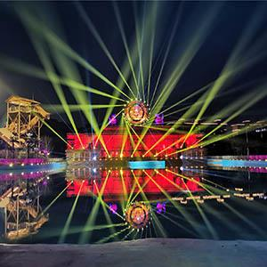 南京华侨城欢乐谷 造浪池&水秀公园