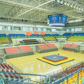 黑龙江鹤岗体育馆